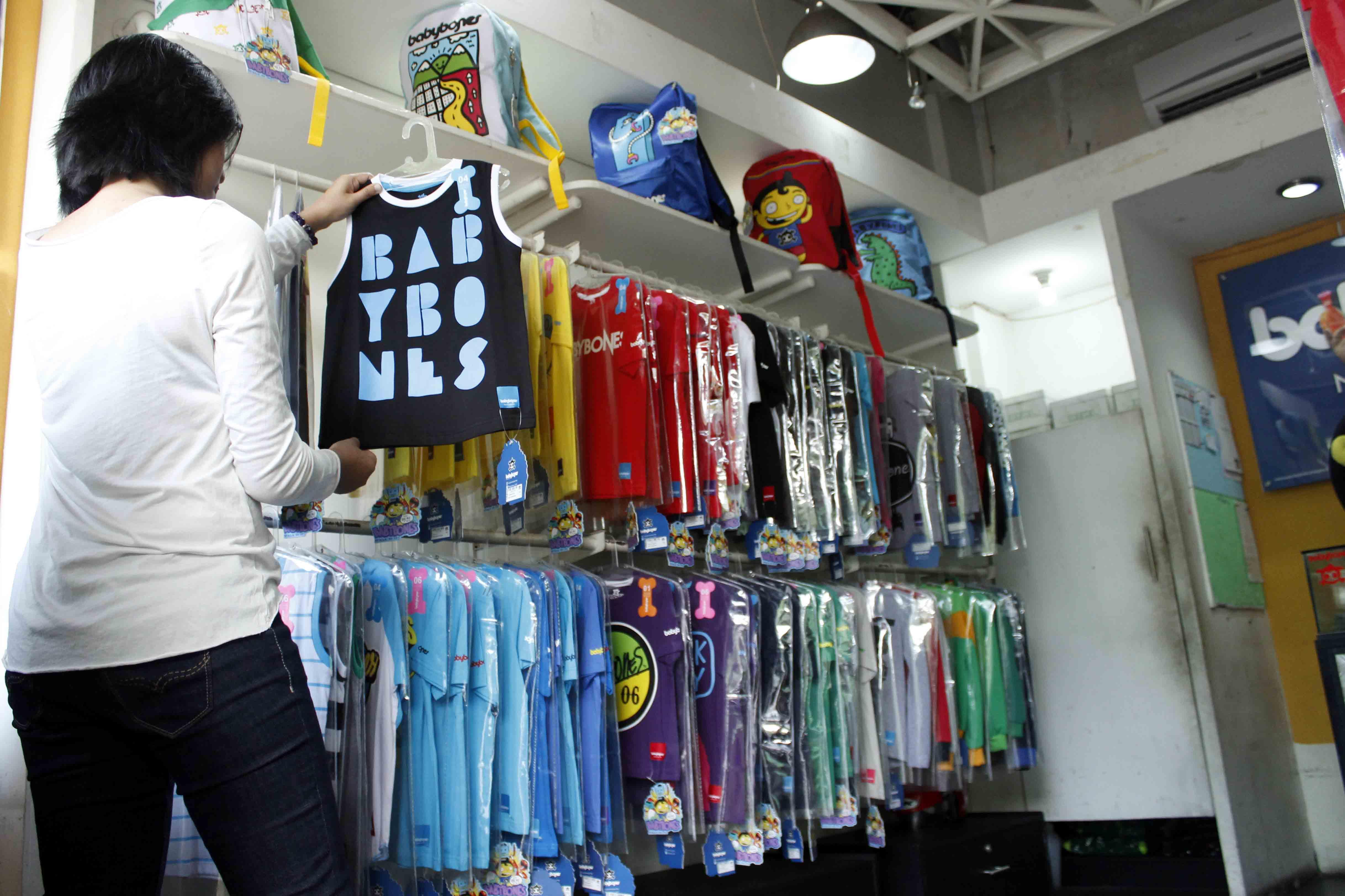 usaha baju distro anak